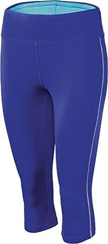 CRIVIT® Damen Sporthose, Leggings, 3/4-Länge (Gr. M 40/42,