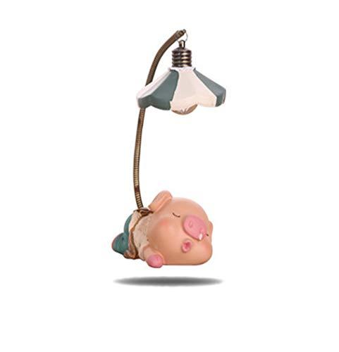 shovv Dekoartikel DecorationCartoon Nette Nase Schwein Ferkel Kreative Nacht Dekoration Ornaments Niedlichen Schwein Baby Nachtlicht Augenschutz Nachttischlampe (Nettes Schwein Nase)