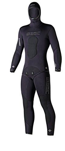 Seac 0010029007pythom Plus traje de buceo, Pythom Plus, negro, XL