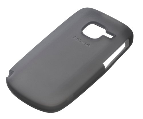 Nokia CC-1004 Silikon Soft Cover für Nokia C3 schwarz