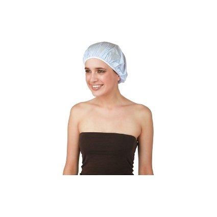 Sibel - Bonnet Douche Plastique Bleu Ciel