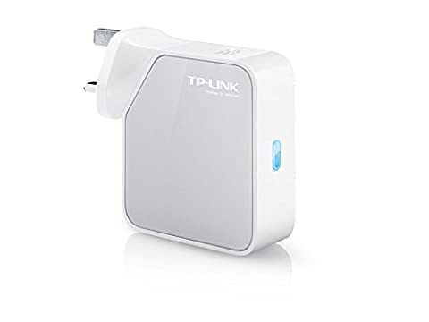 TP-Link 300 Mbps Wi-Fi Travel Router (Support Router Mode/Hotspot Mode/Range Extender Mode/Client Mode/Access Point Mode, Built-In Power Adapter, 1 USB Port, UK Plug