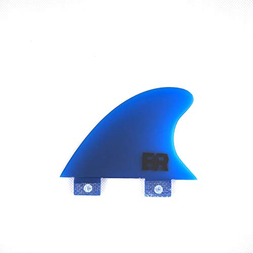 Eisbach Riders River Surfing Surfboard FCS Trailer Finne - Knubster Center Keel Fin (medium - 2.6\') (Blau)