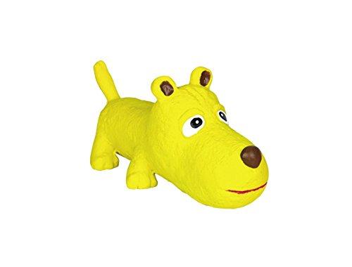 Nobby 60440 Spielzeug Latex Hund, gelb