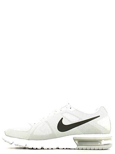 Nike Wmns Air Max Sequent, Chaussures de Running Entrainement Femme Blanc Cassé - Blanco (White / Mtlc Drk Gry-Cl Gry-Pr P)