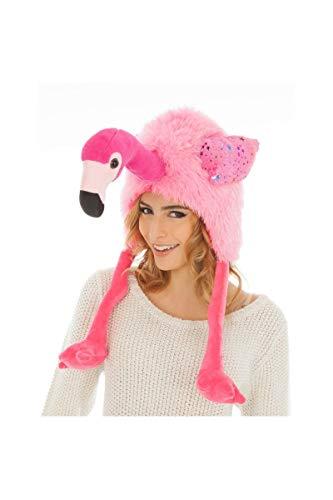 amingo Einheitsgröße Erwachsene rosa Hut Fasching Karneval Spass-Mütze ()
