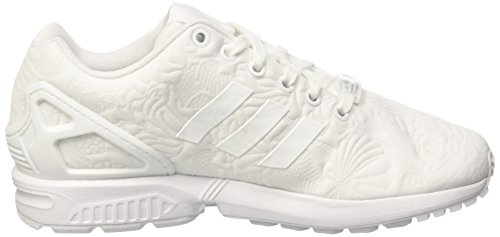 adidas  Zx Flux W, Gymnastique  femme Blanc (Ftwr White/Ftwr White/Core Black)