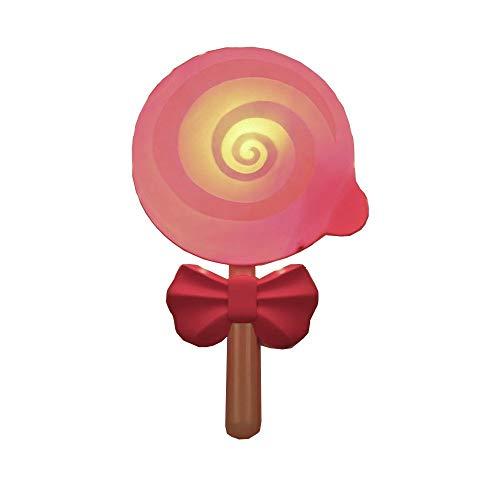 Hai Ying ♪ Süße Lollipops rosa Prinzessinnenzimmer Wandleuchten Kinderzimmer Beleuchtung Nachtlicht Kabel Wandlampe