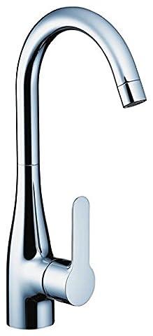 Einhandmischer Sportive 2 für Küchenspüle | Hansgrohe | 14861 | Schwenkbarer Auslauf 360° | Chrom | Wasserhahn Spüle