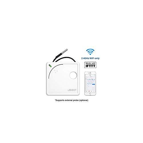 Termómetro inalámbrico con wifi, temperatura remota, humedad, monitor de luz, sensor de medio ambiente...