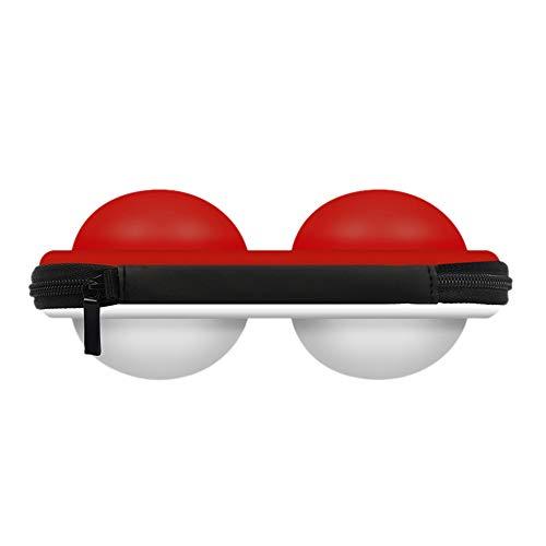 TAOtTAO Schalten Sie Poke Ball Plus Tragetasche für Switch Poke Ball und Controller Eevee Game Bag (C) - Game-controller-bag