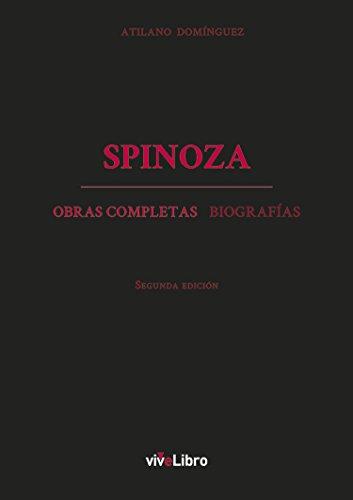 Spinoza. Obras completas y biografías eBook: Domínguez Basalo ...