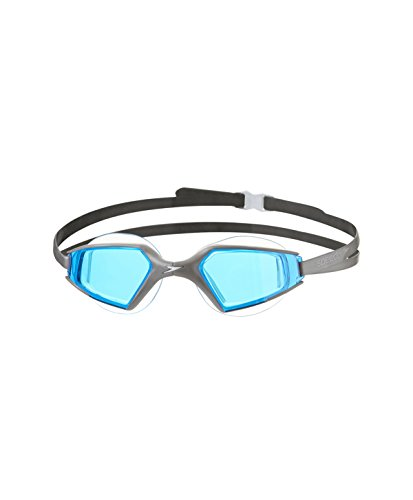 Speedo Erwachsene Schwimmbrille Aquapulse Max 2, Chrome/Blue, One Size, 8-09796A259ONESIZE
