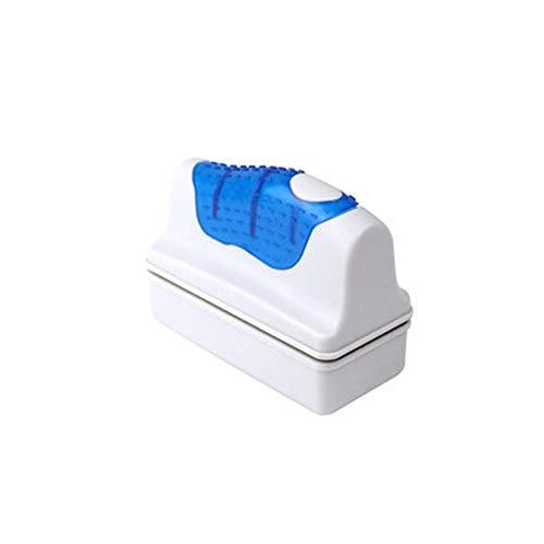 DJG Glas-Magnet Aquarium Pinsel, Reinigungswerkzeug Saugstark doppelseitig Abwischen Bürste zur Reinigung von Glas Schwimm Fish Tank,A