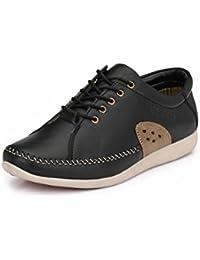 Fentacia Men Black Tpr Casual Shoes