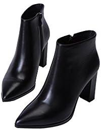 Zapatos negros formales Highdas para mujer VYVLAaex4
