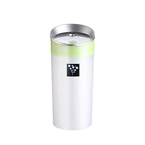 USB Wasserbecher Form Luftbefeuchter Sprayer Auto nach Hause Luftreinigung, Desktop stumm Luftbefeuchter, grün