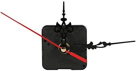 nero e blu Meccanismo di movimento dellorologio da parete al quarzo professionale e pratico Kit di parti di strumenti di riparazione fai-da-te con le mani blu