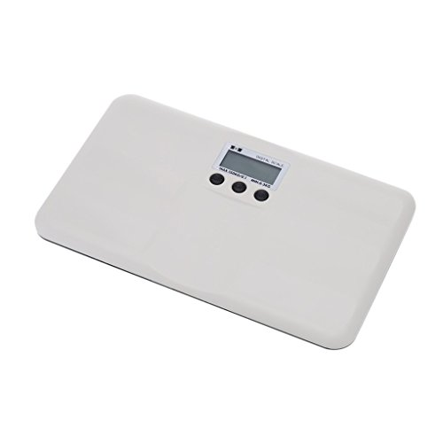 Elenxs Escala de bebé 150 kg / 100 g de peso corporal...