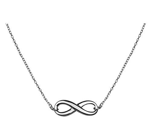 SOFIA MILANI Damen Halskette Unendlich Infinity Silber 50014