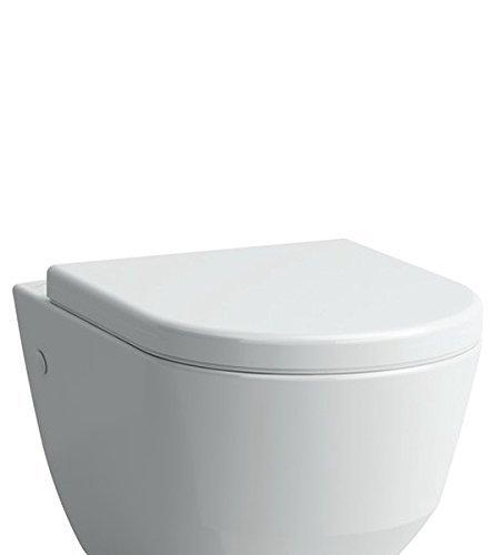 Laufen Pro WC-Sitz in weiß, mit Absenkautomatik, 8969513000001