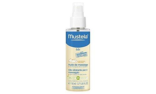 Mustela olio idratante per il massaggio neonatale
