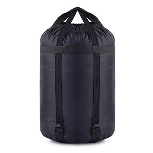OUTAD Sacs de Rangement imperméables à l'eau pour vêtements de Compression Couettes Oreillers Literie Rideaux Sac de Rangement Sac de Transport Noir S