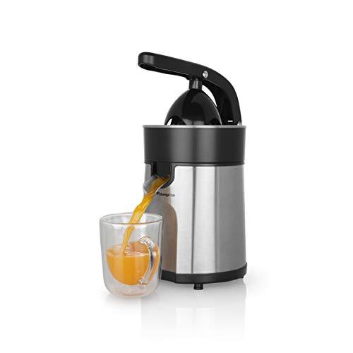Orbegozo EP 4100 - Exprimidor zumo eléctrico de naranjas, brazo articulado, acero inoxidable, motor...