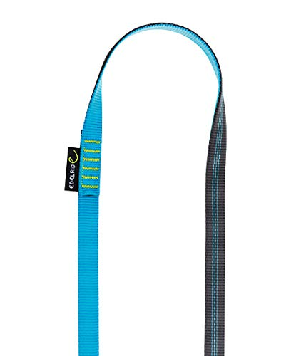 Edelrid Unisex– Erwachsene Schlinge Tubular Sling 16mm VPE1, Slate-Icemint (602), 120 cm
