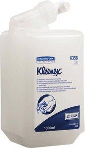 Kleenex Handdesinfektionsmittel, mit Alkohol, feuchtigkeitsspendend, 1er Pack (1 x 1 Liter)
