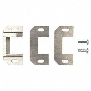 C Type Strike - Satin Aluminum Standard Surface Mounted Strike for use with Jackson Rim Panic Exit Devices by CR Laurence (Mounted Devices Surface)