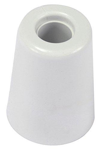 Brinox Anschlag Tür groß mit Schraube 5x3.7x3.7 cm weiß