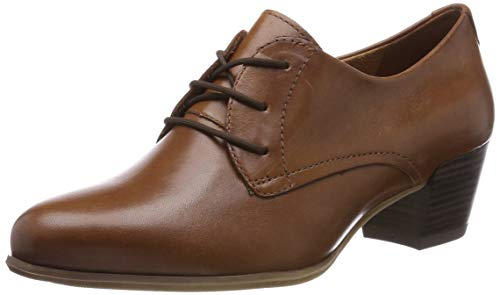Tamaris Damen 1-1-23305-22 348 Brogues, Braun (COGNAC LEATHER 348), 40 EU