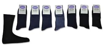 7 Paar Naft Socken 100% Baumwolle Jeanstöne 39/42