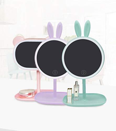 Lámpara De Mesa Creativa Espejo Maquillaje Animal