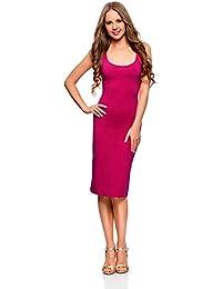 330d3488b041 Amazon.it  CANOTTA - Rosa   Vestiti   Donna  Abbigliamento