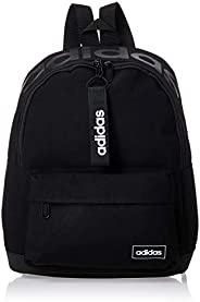 adidas Womens Backpack, Black/White - FL3711