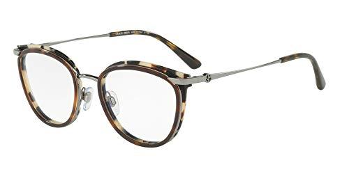 Armani Damen 0AR 5074 3010 52 Sonnenbrille, Grau (Gunmetal/Top Cube Havana),