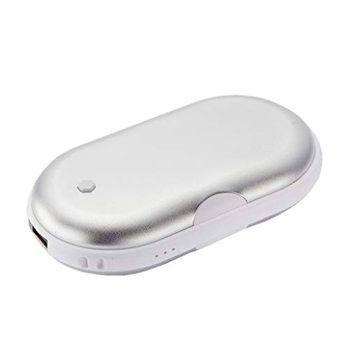 Saingace(TM) Externes Power Bank Handwärmer, 5200mAh Tragbares Ladegerät Handy-Ladegerät Quick Charge Externe Batterie USB-Ladegerät Externe Ladegerät, Pocket Heater Hand Warmer Pocket Hand Warmers