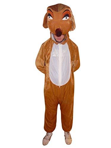 PUS Erdmännchen- Kostüm-e Su02 M, Kat. 3, Achtung: B-Ware Artikel. Bitte Artikelmerkmale lesen! Erwachsene Frau-en Männer Tier-e Safari Fasnacht-s Fasching-s Karneval-s Geburtstag-s Geschenk-e (Gruppe Kostüm 3 Für)