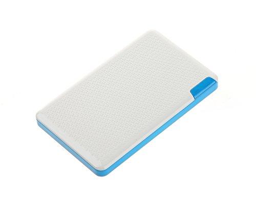 Batterytec® Mini schlank 2400mAh Power Bank Externes Akku Pack und Ladegerät, mobiler externer Akku Pack,für iPhone 4/4S/3GS, iPod Touch/Classic/Nano; Smartphone, Handy. - Touch Bank Ipod Power 4