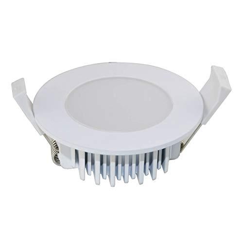 vbled planas–Lámpara LED de techo/lámpara/Foco empotrado/Panel Techo (Bombilla, luz regulable 10W 230V...