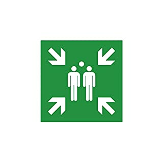 Rescue Sign Symbol Collection in accordance with ISO 7010 Description: 150 x 150 mm K1
