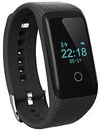 LISABOBO @ montre intelligente - SODIAL (r) Bluetooth 4.0 montre sport santé bracelet bracelet intelligent sommeil suivi de remise en forme , green