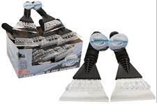 PMS® Grand grattoir à glace pour voiture avec poignée éponge et PVC 25,4x 14cm