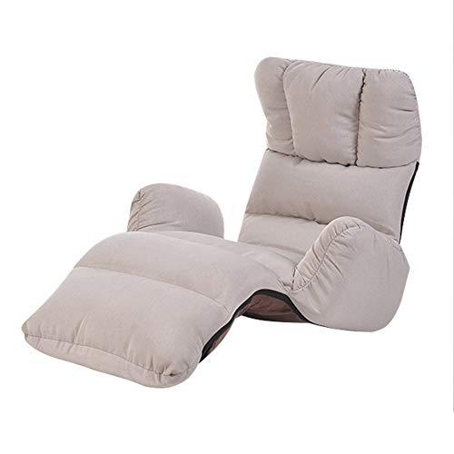GY Klappbare Faule Couch, Boden Spiel Lounge Sessel, Einstellbar Einzelsofa Gepolsterte...