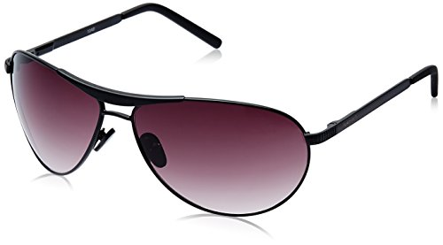 Fastrack Aviator Sunglasses (Black) (M062BR3) image