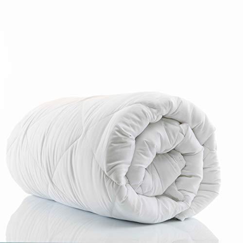 etérea Comfort dünne Winterdecke/Bettdecke- warme Winterbettdecke Mikrofaser Steppdecke Emily 95 Grad waschbar 155x220 cm
