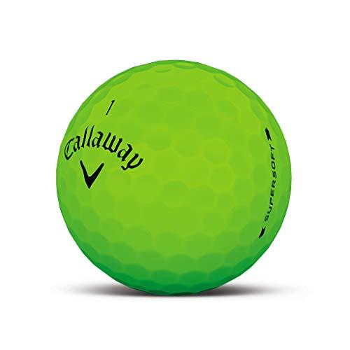 Callaway Supersoft Matte Grün Golfball - Individuell Bedruckt mit Ihrem Text Bild oder Logo (1 STK) -