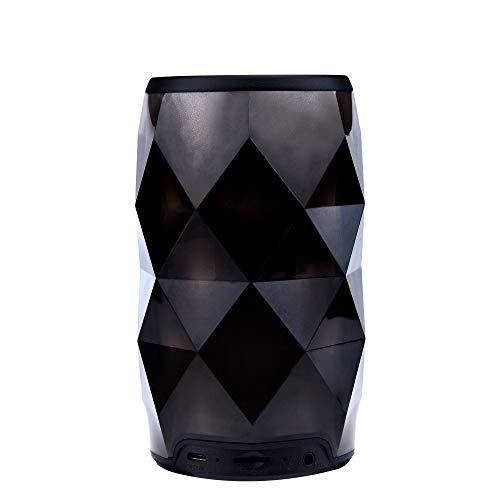 CAOQAO Veilleuse Intelligent ÉCran Tactile Enceinte Bluetooth Portable,LED 6 Mode sans Fil Haut-Parleur Audio StéRéO Basse,pour Convient pour Convient pour La FêTe, Le Yoga, Les Voyages, La Maison